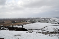 Snow disappears as you approach Comber