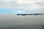 Fairhead in the mist